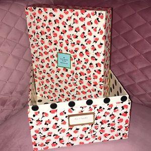 Kate Spade Roses Nesting Box